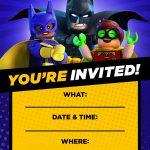 Pin Van Pompom Kids Parties Kinderfeestjes Op Lego 》 Friends Lego - Lego Batman Invitations Free Printable