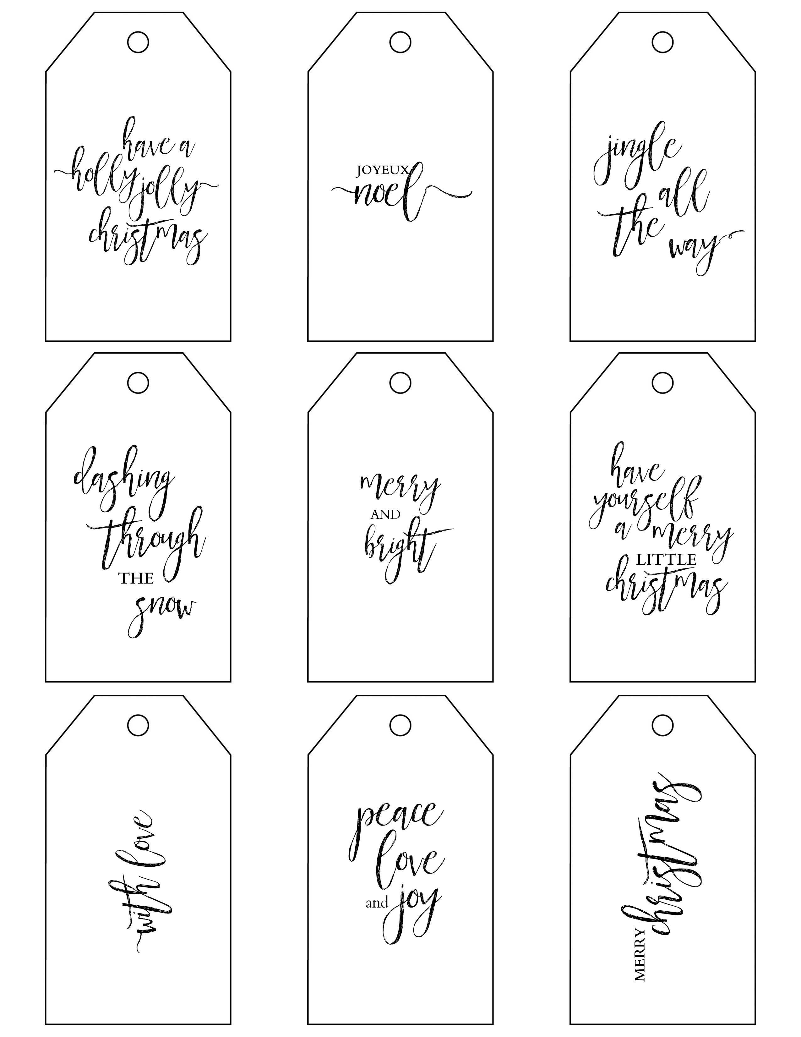 Pindan On Christmas | Christmas Gift Tags Printable, Christmas - Free Printable Holiday Gift Labels