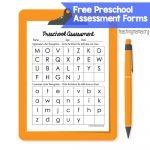 Preschool Assessment Forms   Teaching Mama   Preschool Assessment Forms Free Printable