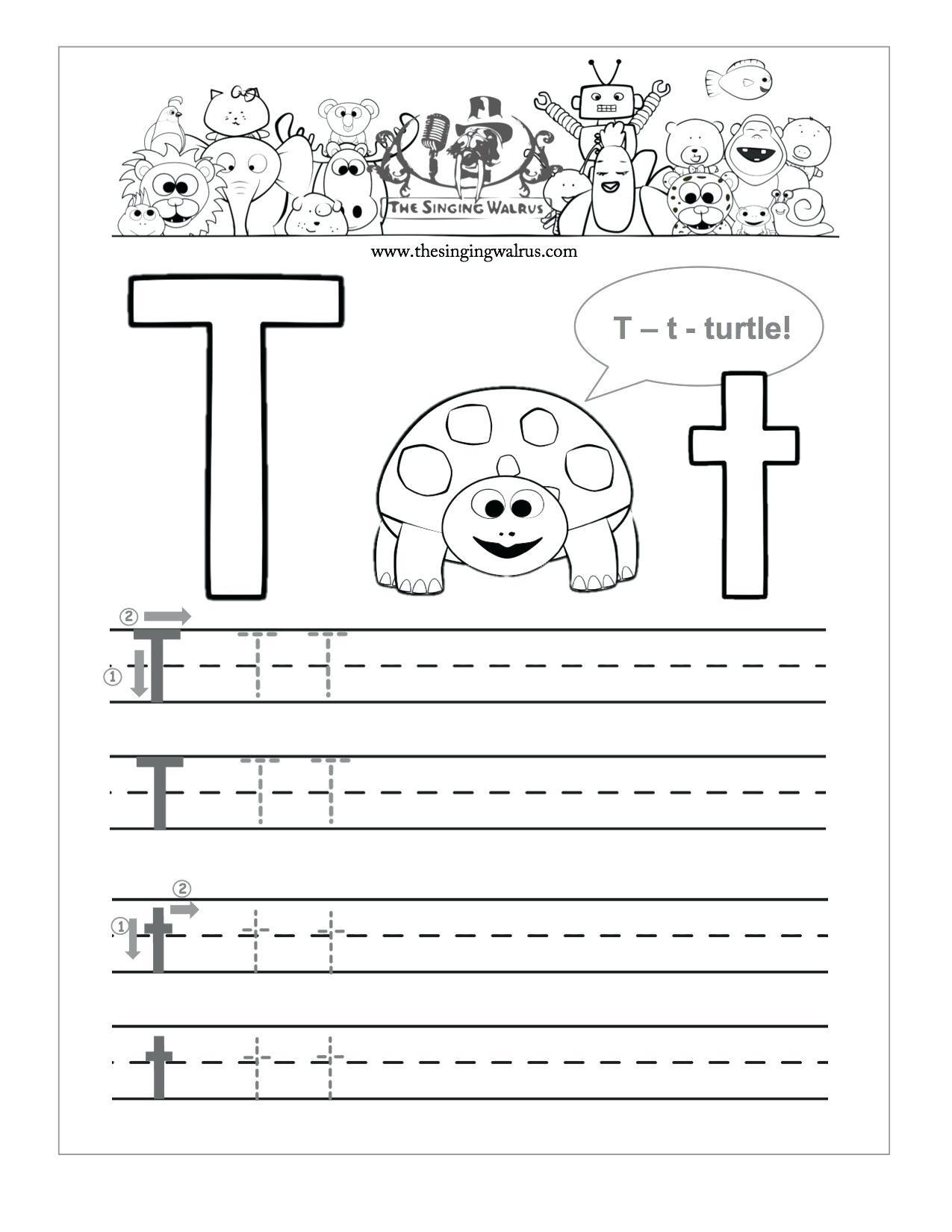 Preschool Letter Tracing Sheets Free Printable Preschool Worksheets - Free Printable Traceable Letters