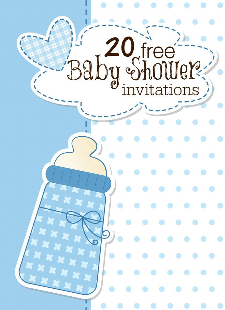 Free Printable Baby Sprinkle Invitations