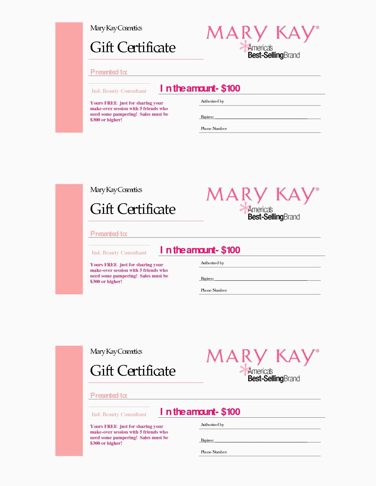 Printable Blank Gift Certificate Template Free Massage Awesome - Free Printable Gift Certificate Templates For Massage