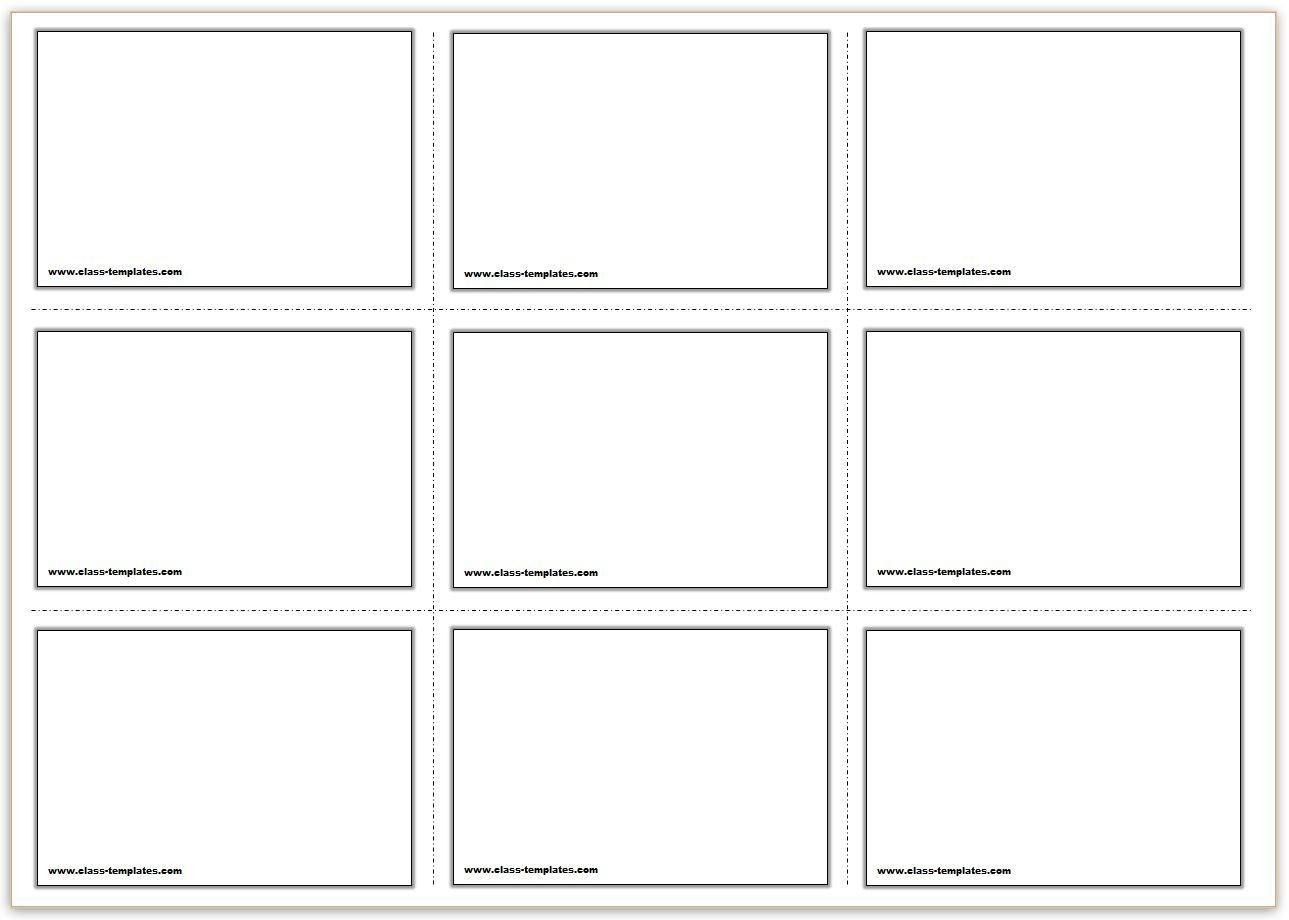 Printable Card Template | Theveliger - Free Printable Card Templates