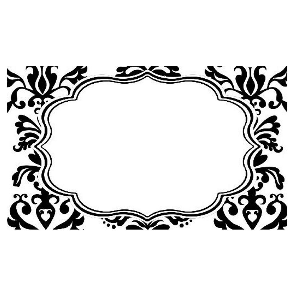 Printable Damask Butterfly Place Cards - Căutare Google   Tiffiny's - Free Printable Damask Place Cards