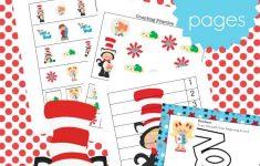 Printable Dr Seuss Activities For Kindergarten And Preschool – Free Printable Dr Seuss Math Worksheets