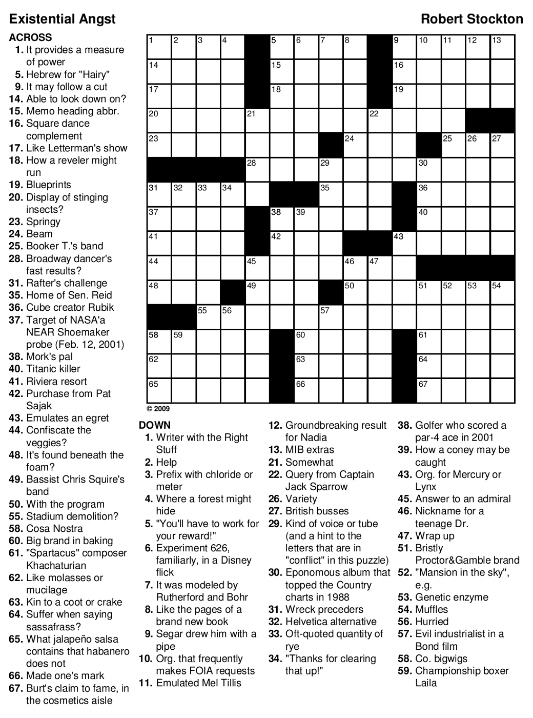 Printable Games For Adults | Mental State | Printable Crossword - Free Printable Games For Adults