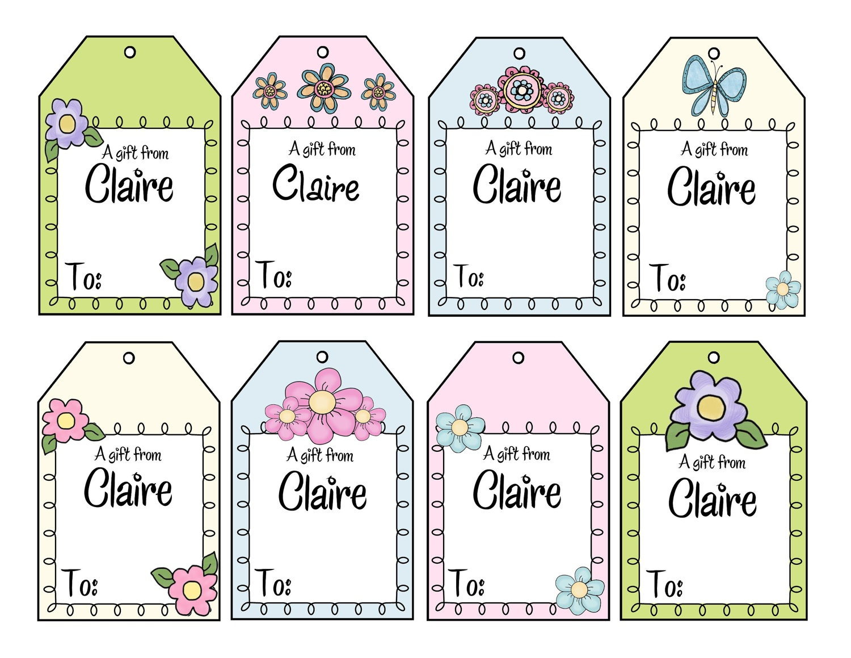 Printable Gift Tags Customized Free Printable Gift Tags Personalized - Printable Gift Tags Customized Free