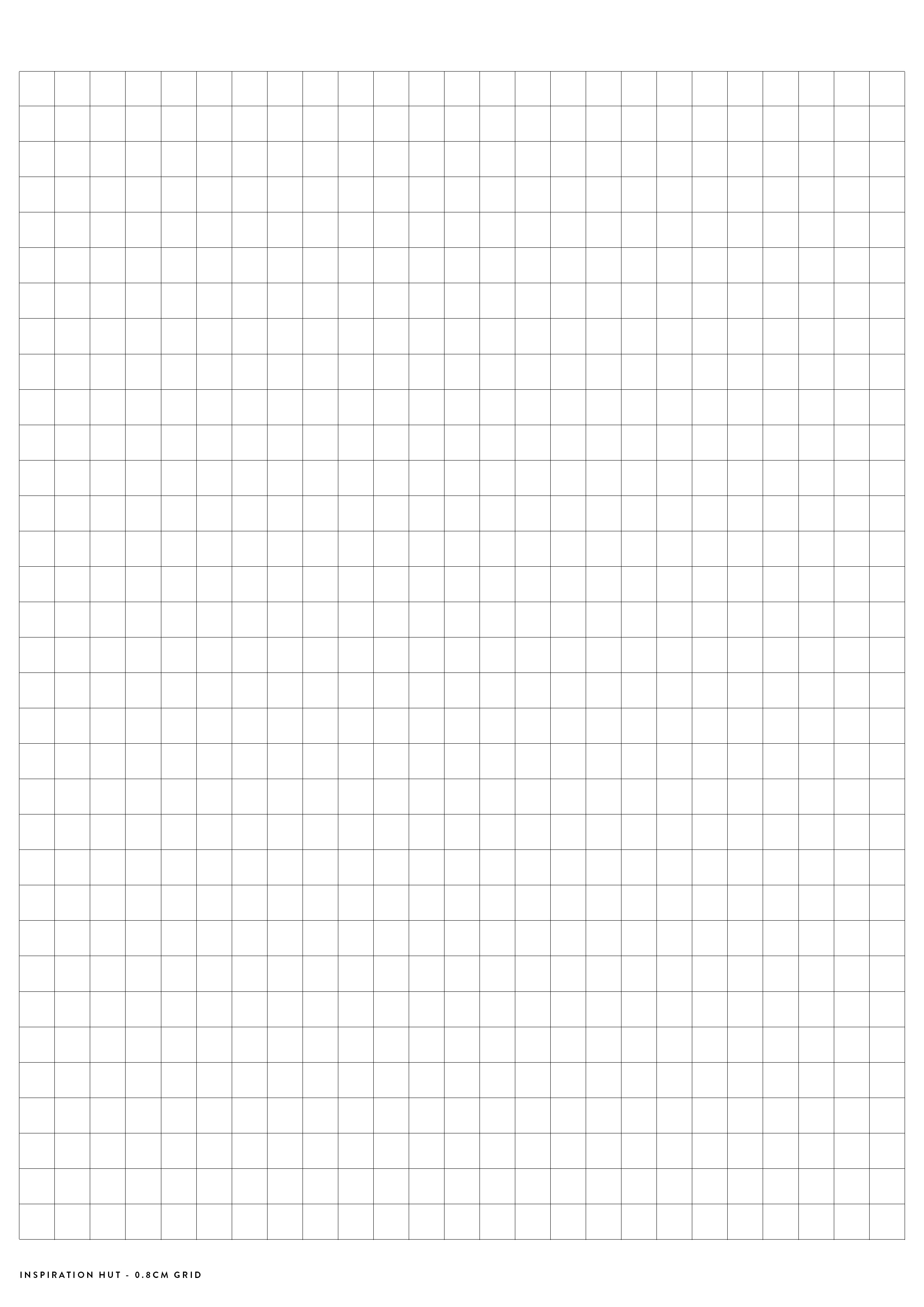 Printable Graph / Grid Paper Pdf Templates - Inspiration Hut - Free Printable Squared Paper