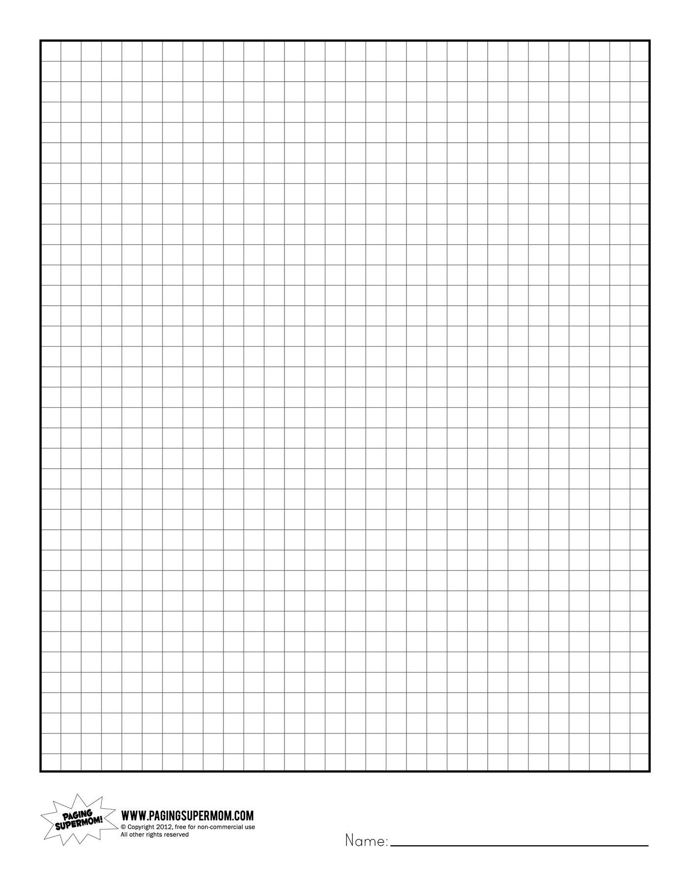 Printable Graph Paper   Healthy Eating   Printable Graph Paper, Grid - Free Printable Squared Paper