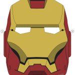 Printable Halloween Masks In 2019 | Halloween   Masks & Costumes   Free Printable Ironman Mask
