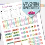Printable Kawaii Planner Stickers   Free Download   Partymazing   Free Printable Kawaii Stickers