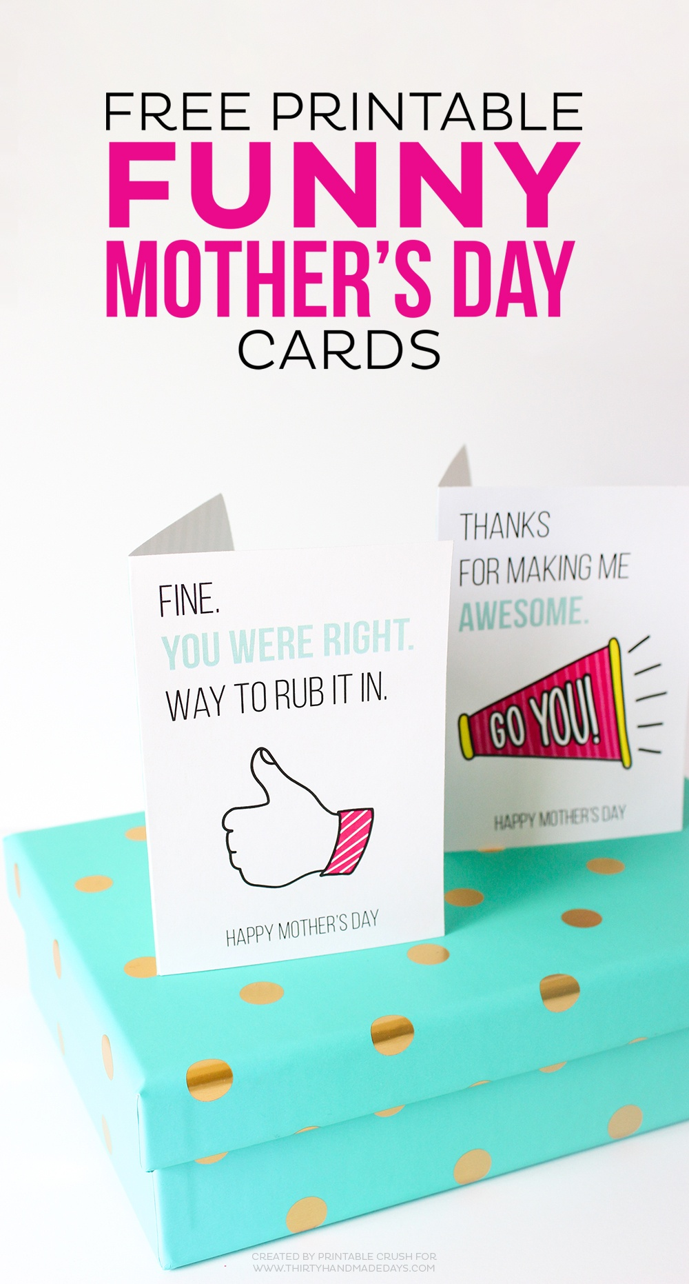 Printable Mother's Day Cards - Free Funny Printable Cards