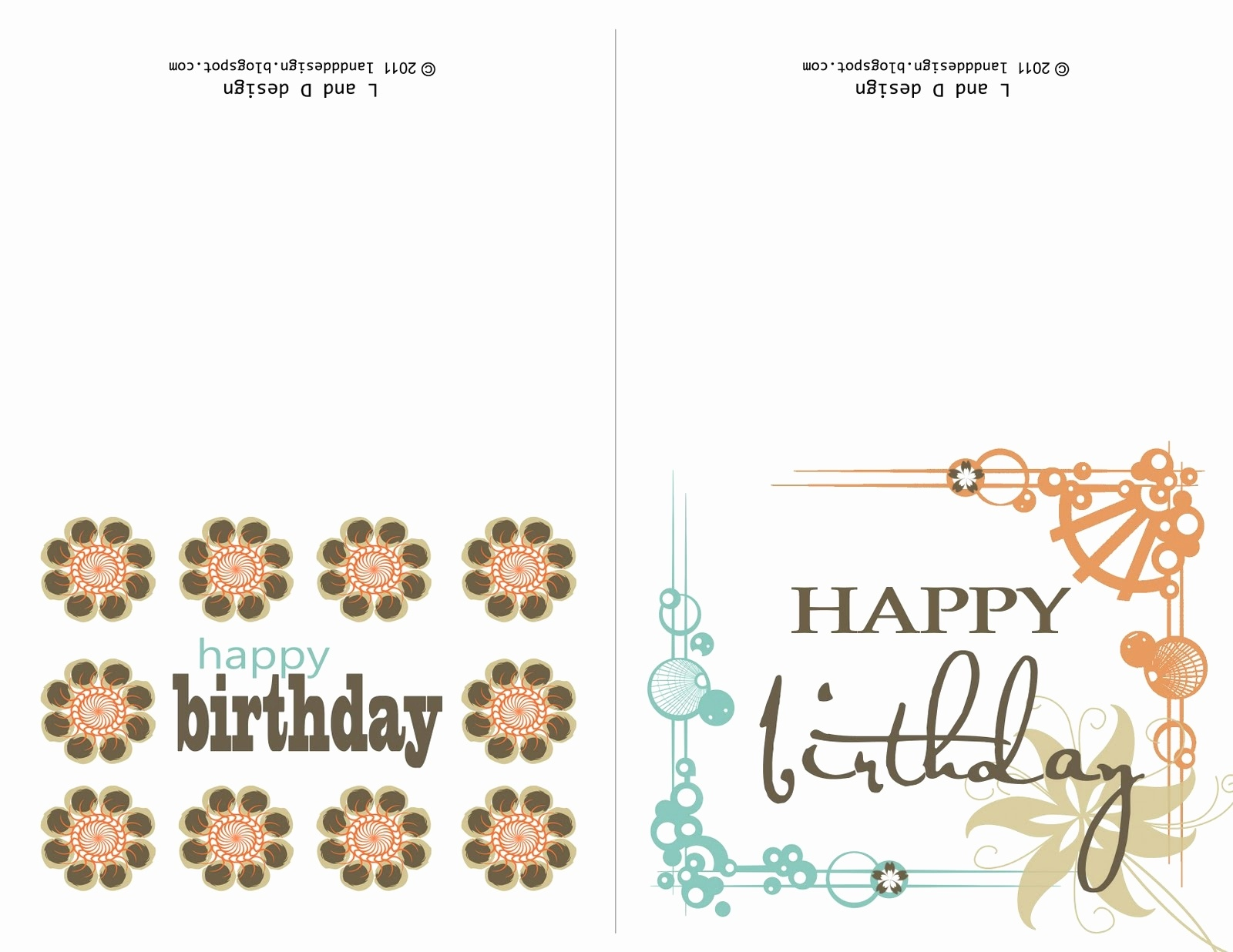 Printable ~ Page 66 Of 126 ~ Birthday Design Collections - Free Printable Birthday Cards For Her