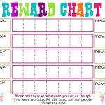 Printable Reward Chart Template   Printable Reward Charts Template - Free Printable Reward Charts For Teenagers