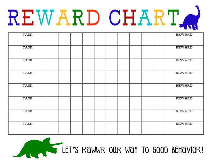 Free Printable Reward Charts For Teenagers