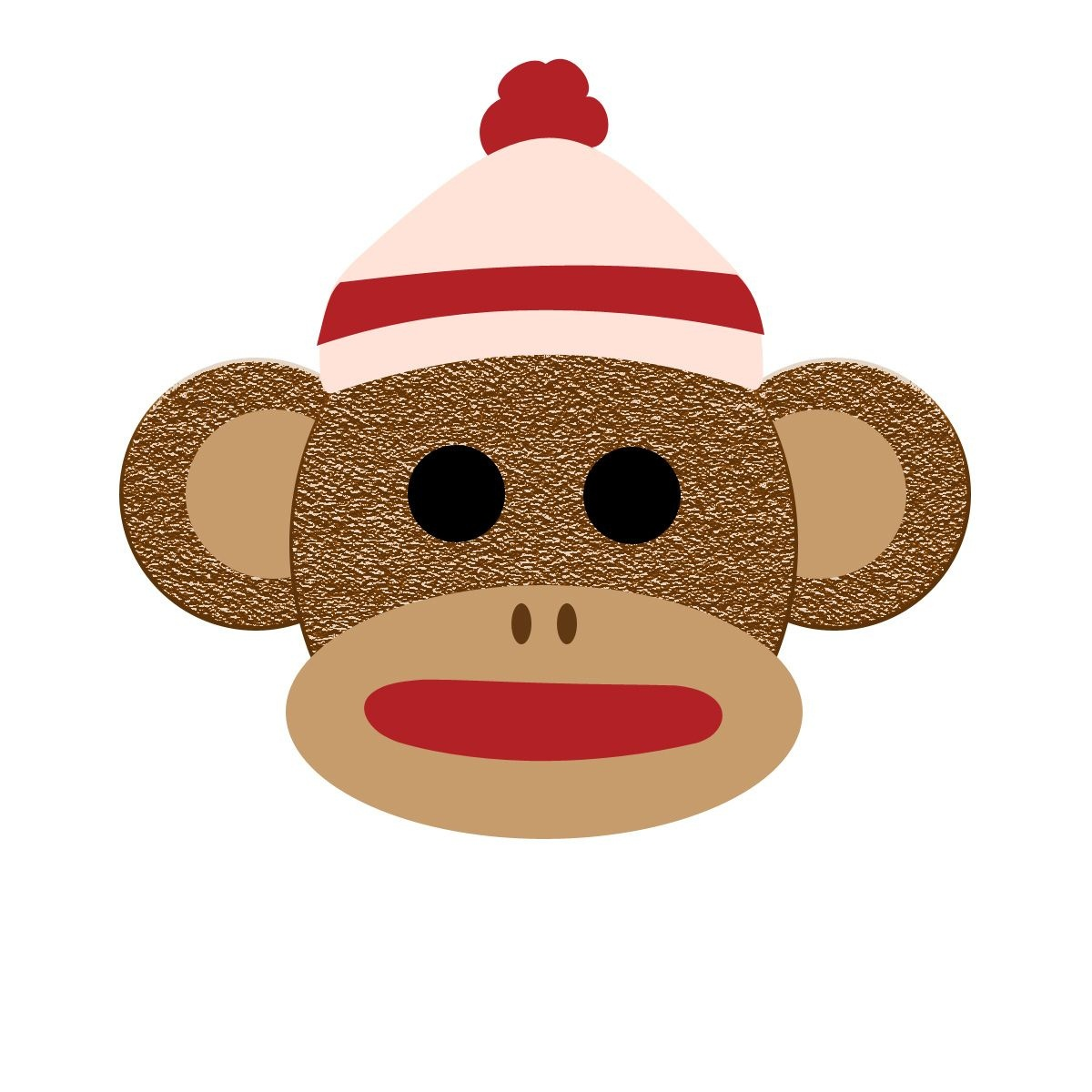 Printable Sock Monkey Clip Art For Free – 101 Clip Art | Monkey - Free Printable Sock Monkey Clip Art