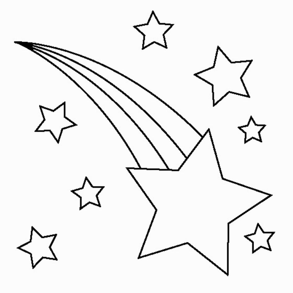 Printable Star Coloring Pages   Coloring Pages   Star Coloring Pages - Free Printable Stars