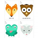 Printable Valentine's Day Cards | Real Simple   Free Printable Valentines Day Cards For Parents
