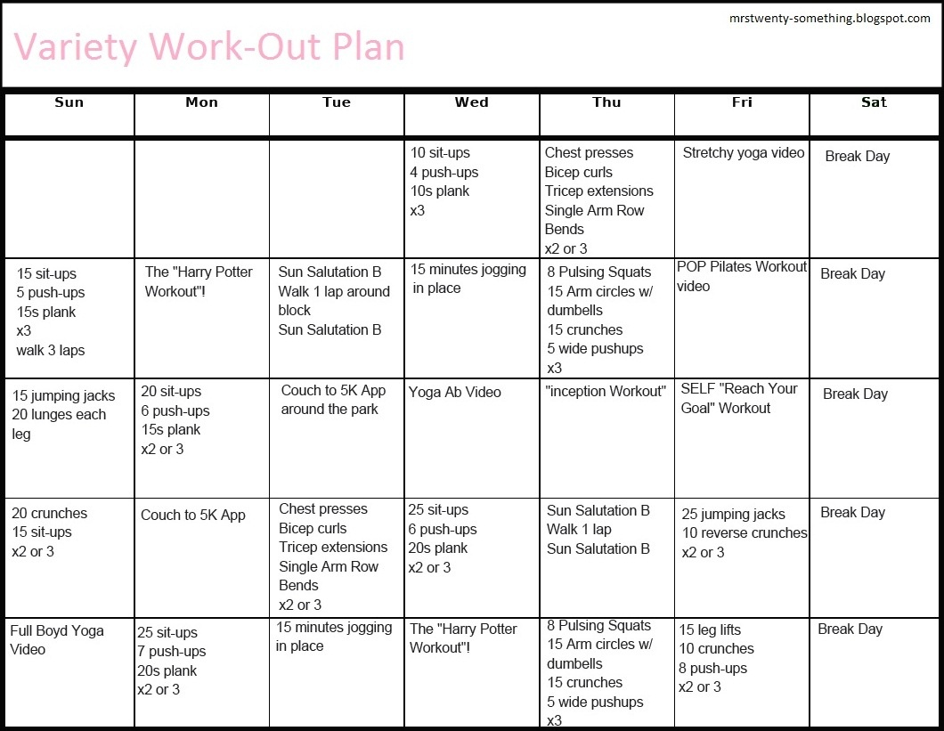 Printable Workout Plans For Men   Hauck Mansion - Free Printable Gym Workout Routines