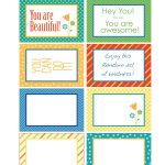Random Act Of Kindness Free Printables   Carla Schauer Designs   Free Printable Kindness Cards