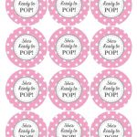 Ready To Pop Printable Labels Free | Baby Shower Ideas | Baby Shower   Free Printable She's Ready To Pop Labels
