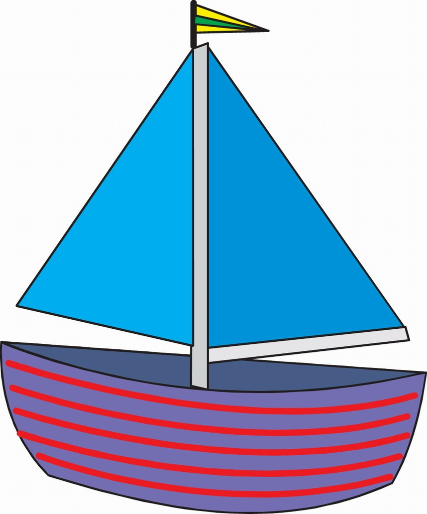 Sailboat Drawing For Kids   Free Download Best Sailboat Drawing For - Free Printable Sailboat Template