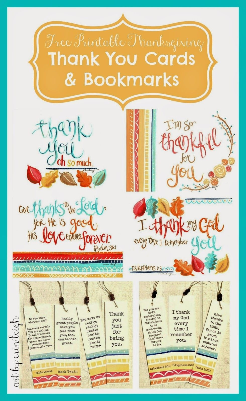 Say Thank You! Free Thanksgiving Printable Thank You Cards And - Free Printable Volunteer Thank You Cards