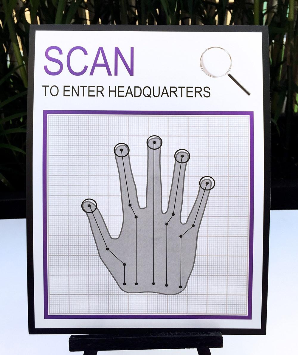Scan To Enter Sign Printable Free   Free Printables - Scan To Enter Sign Printable Free