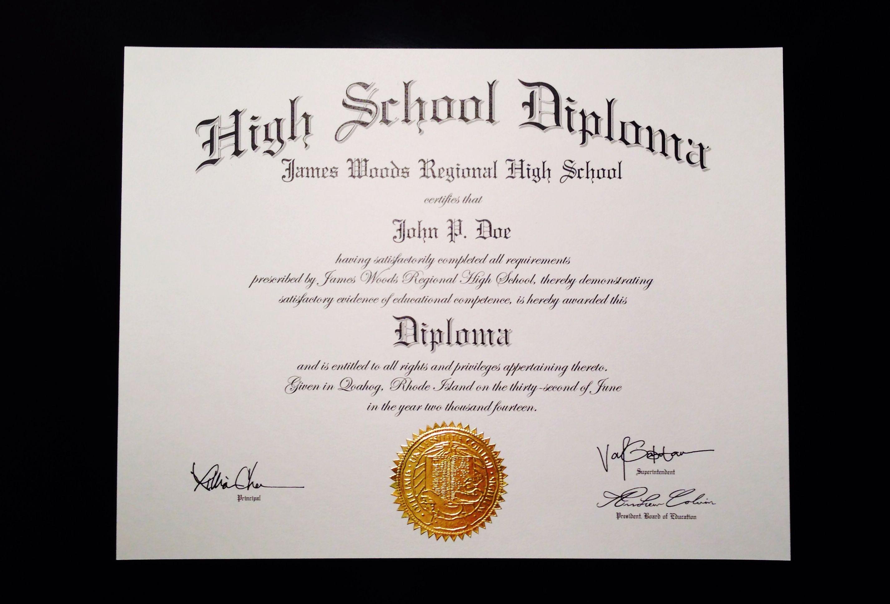School Certificate Template Free Printable Certificates | Diploma - Free Printable Ged Certificate