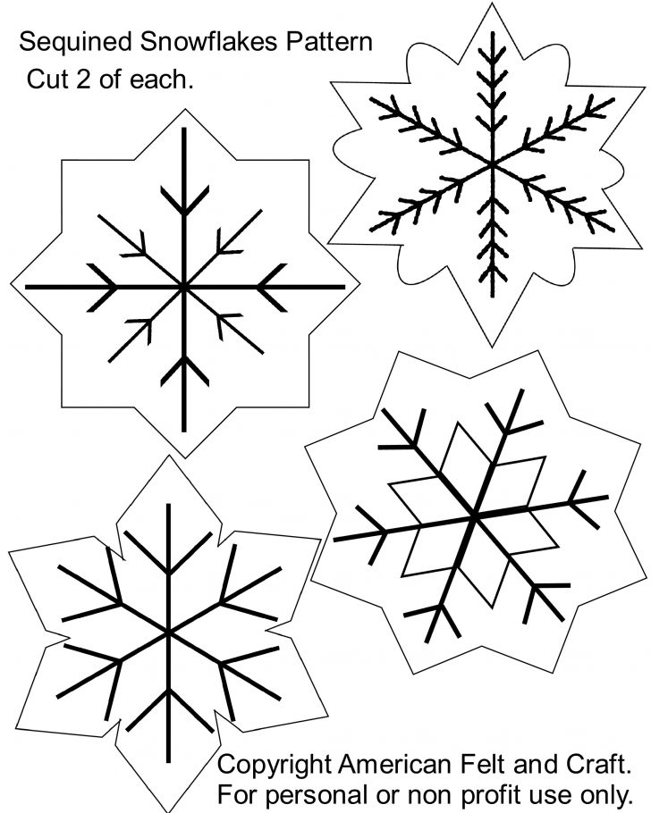 Free Printable Felt Christmas Ornament Patterns