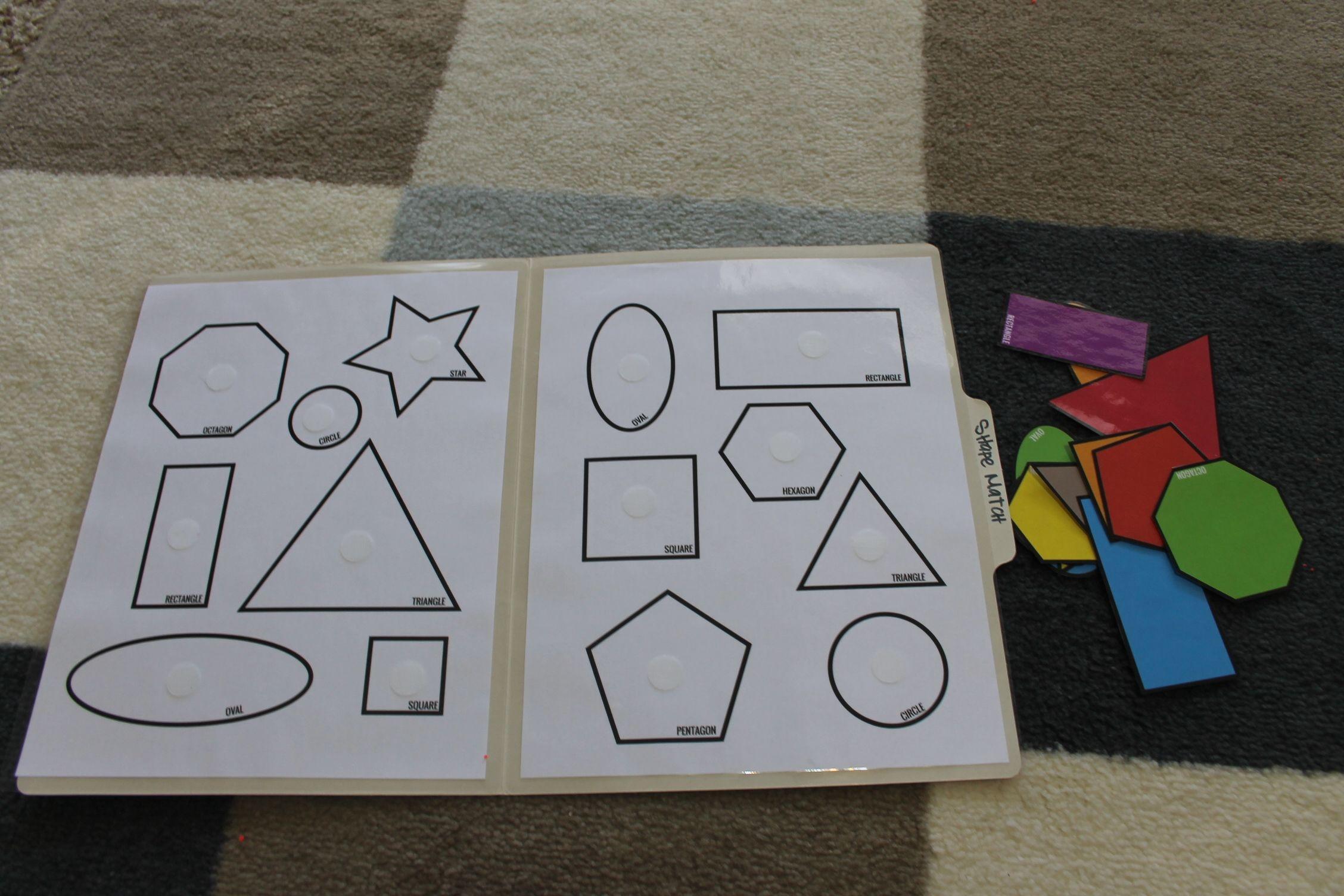 File Folder Preschool Calendar - Homeschool Printables For ...