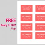 She's Ready To Pop Baby Shower Ideas, Decorations, Free Printable   Free Printable She's Ready To Pop Labels