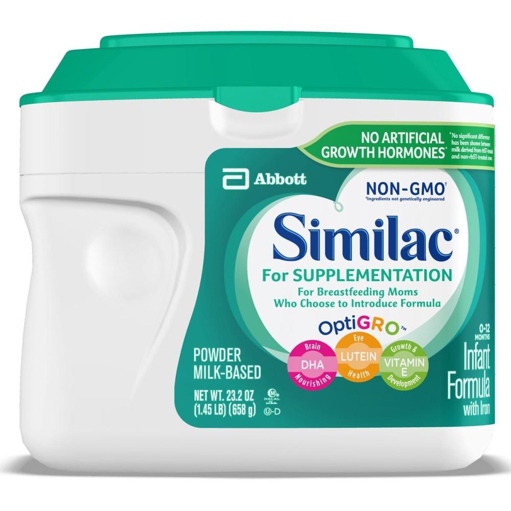 Similac Baby Formula For Supplementation, 0 - 12 M - 1.45 Lb. | Rite Aid - Free Printable Similac Sensitive Coupons