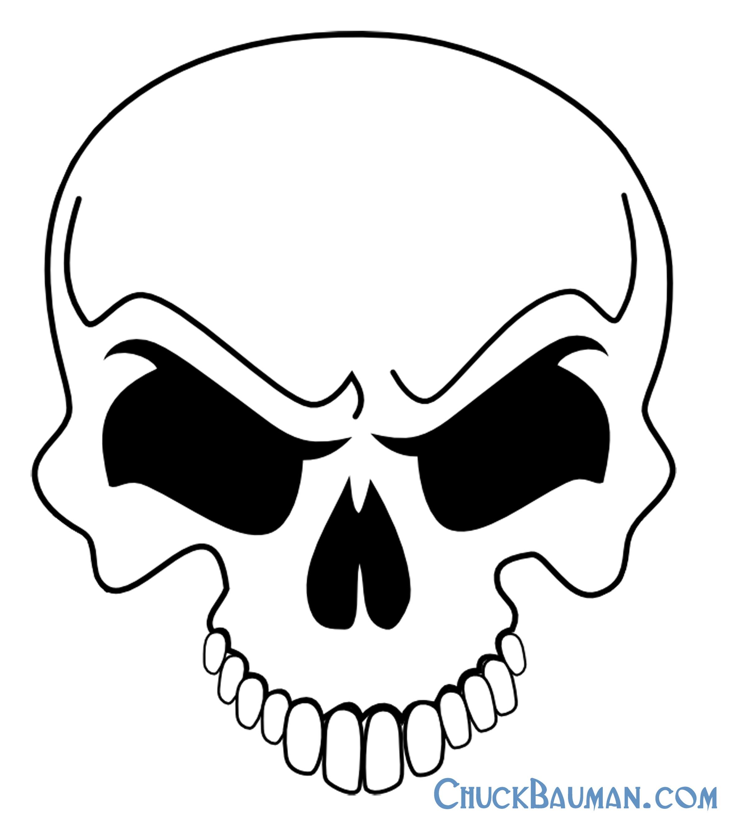 Картинки черепа мультика
