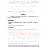 Subcontractor Short Form Contract : Contractor And Employee   Free Printable Subcontractor Agreement