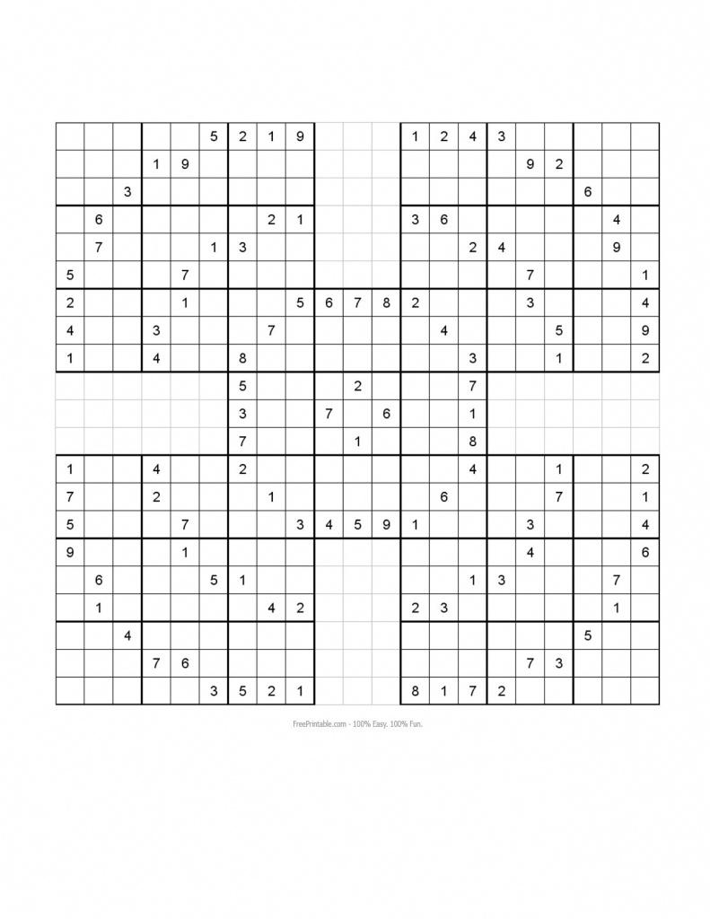 Sudoku 16X16 Daily Printable Monster   Printable Monster Sudoku - Sudoku 16X16 Printable Free
