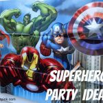 Superhero Birthday Party Ideas {With Free Printables!}   Life   Avengers Party Invitations Printable Free