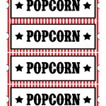 Sweet Daisy Designs: Free Printables: Home Movie Theatre Night – Free Printable Movie Tickets