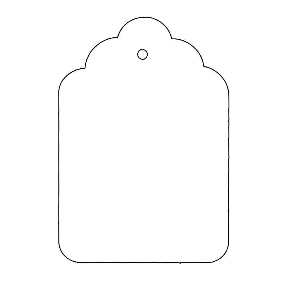 Tag Shape Template | Use These Templates Or Make Your Own Shape And - Free Shape Templates Printable