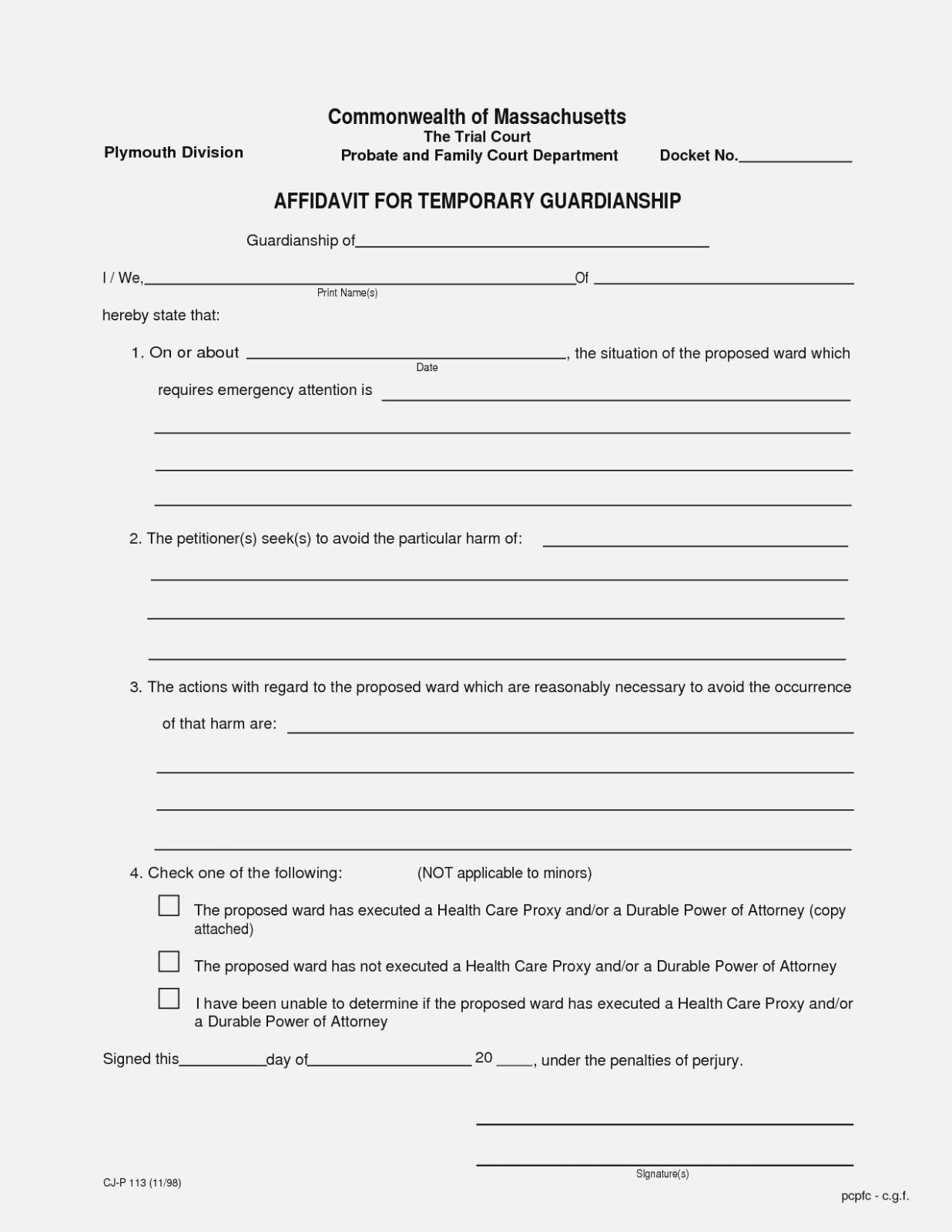 Ten Things You Probably   Realty Executives Mi : Invoice And Resume - Free Printable Temporary Guardianship Form