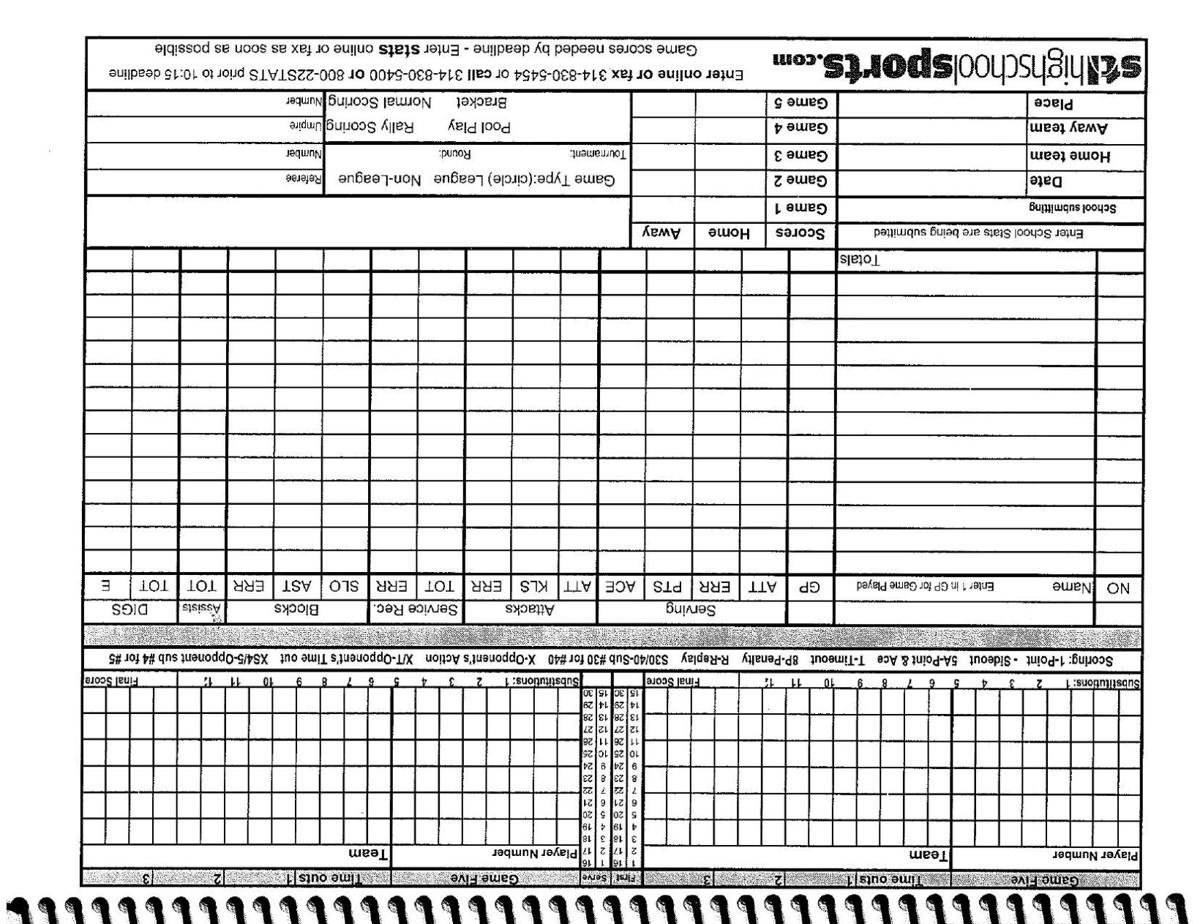 Than Volleyball Stat Sheets Score Sheet Pic1   Trafficfunnlr - Printable Volleyball Stat Sheets Free