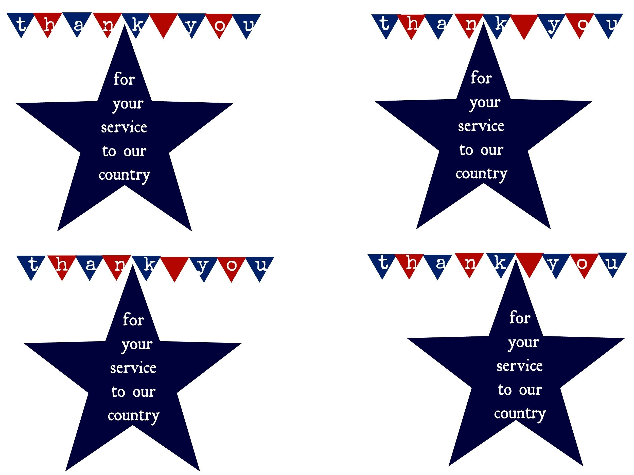Thank A Hero And Printable   Military   Honor Flight, Veterans Day - Free Printable Military Greeting Cards