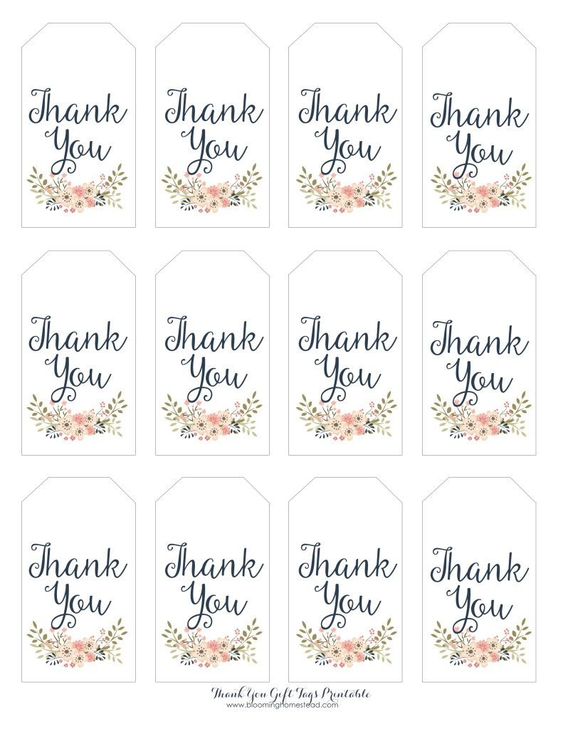Thank You Gift Tags   Baby Girl Party Ideas   Thank You Tag - Thank You For Coming Free Printable Tags