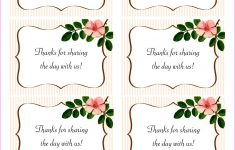 The Beautiful Wedding Favor Tags As Our Identity: Free Printable – Free Printable Wedding Favor Tags