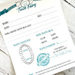 Tooth Fairy Free Printable Certificate   Tooth Fairy Stationery Free Printable