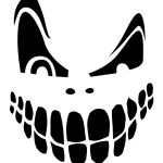 Top 100+ Jack O Lantern Faces Patterns Stencils Ideas | Halloween - Free Printable Scary Pumpkin Patterns