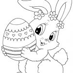 Top 15 Free Printable Easter Bunny Coloring Pages Online | Зентангл   Free Printable Easter Drawings