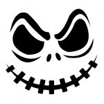 Top Printable Scary Face Pumpkin Carving Pattern Design Stencils - Free Printable Scary Pumpkin Patterns