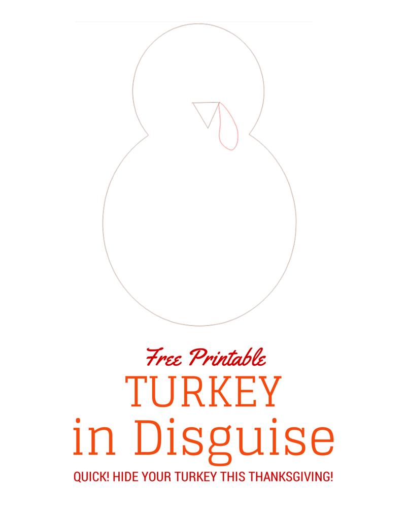 Turkey In Disguise Free Printable Template | Kid Blogger Network - Free Printable Turkey Craft