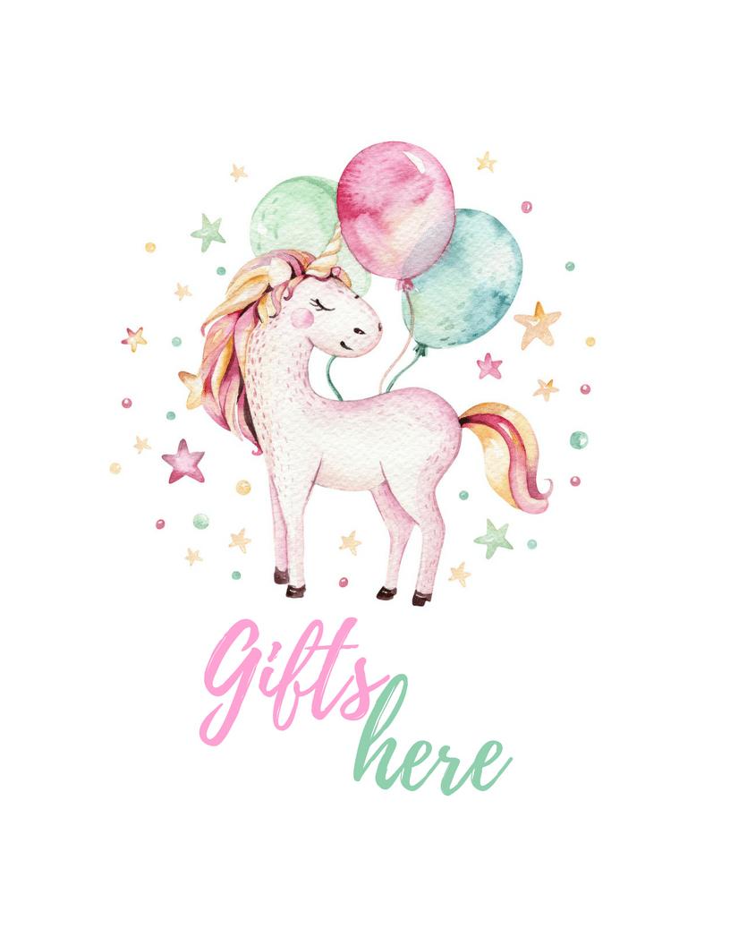 Unicorn Party Free Printables | Best Of Pinterest - Tinselbox - Unicorn Name Free Printable